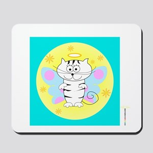 ITTY BITTY ANGEL KITTY (Yellow Orb Blue Box) Mouse