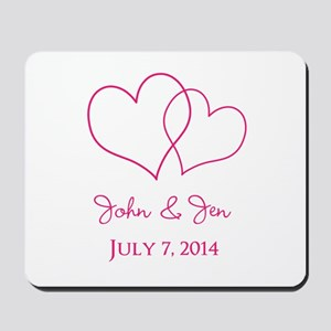 Custom Wedding Favor Mousepad