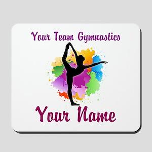 Customizable Gymnastics Team Mousepad