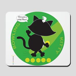 BOWLING KITTY Mousepad