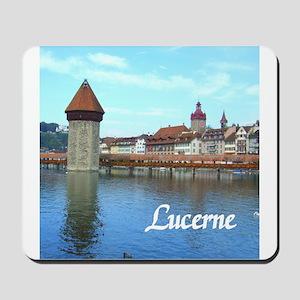 Lucerne souvenir Mousepad