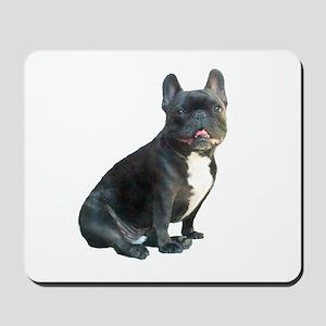 French Bulldog (blk)1 Mousepad