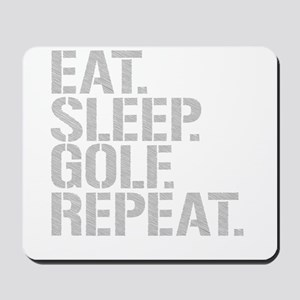 Eat Sleep Golf Repeat Mousepad