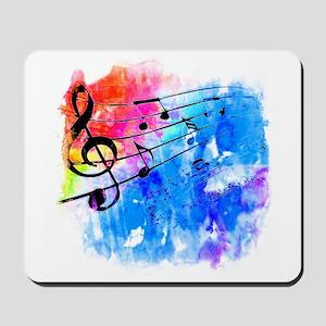 Colorful music Mousepad