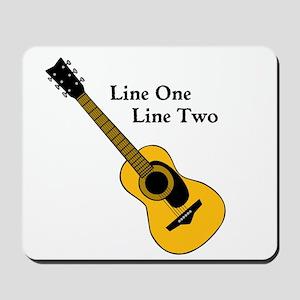 Custom Guitar Design Mousepad