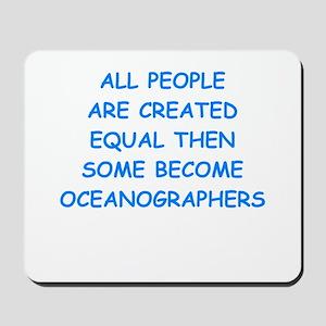oceanographer Mousepad
