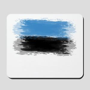Estonia flag Tallinn Mousepad