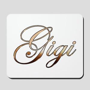 Gold Gigi Mousepad