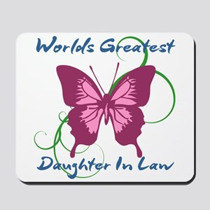 World's Greatest Daughter-In-Law Mousepad