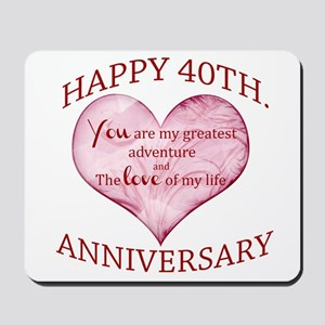 40th. Anniversary Mousepad