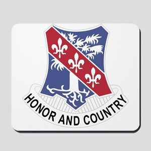 327th Glider Infantry Regiment Crest Mousepad
