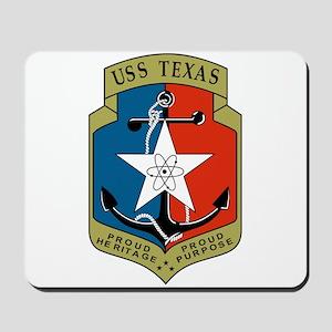 USS Texas (CGN 39) Mousepad