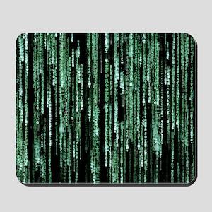 Matrix Code Mousepad