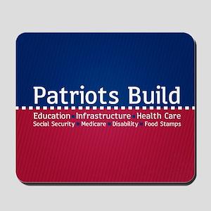 Patriots Build Mousepad