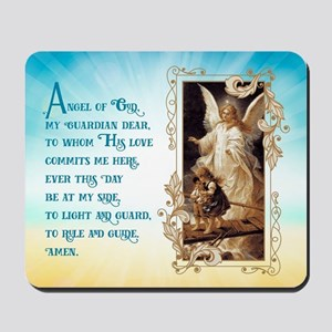 Angel of God (Day) Mousepad