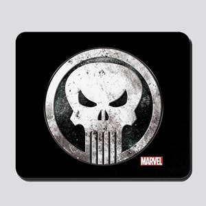 Punisher Grunge Icon Mousepad