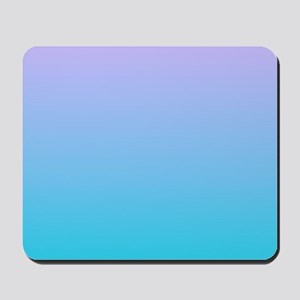 purple turquoise ombre Mousepad