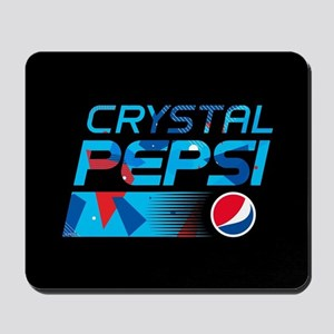 Crystal Pepsi Pattern Mousepad