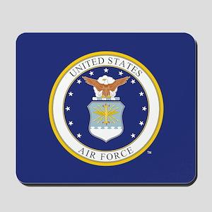 Air Force USAF Emblem Mousepad