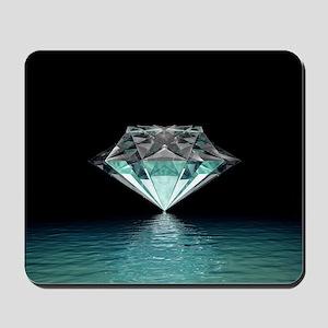 Aqua Diamond Mousepad