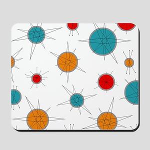 Atomic Era Planets Mousepad