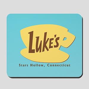 Luke's Diner Mousepad