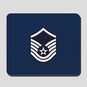 USAF: MSgt E-7 (Blue) Mousepad