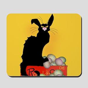 Happy Easter - Le Chat Noir Mousepad