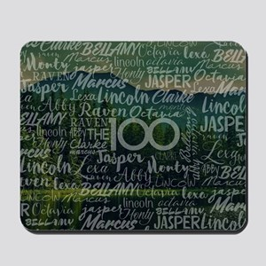 The 100 TV Show Mousepad