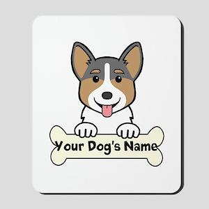 Personalized Corgi Mousepad