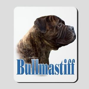 Bullmastiff(brindle)Name Mousepad