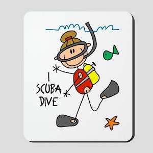 I Scuba Dive Mousepad