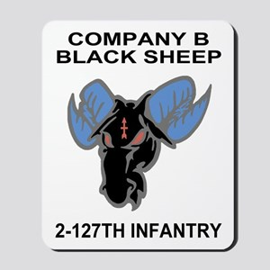 2-127th Infantry <BR>B Company Mousepad 1