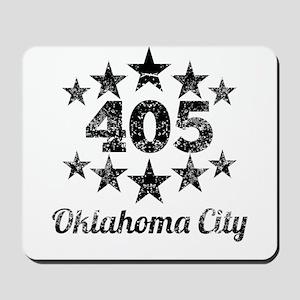 Vintage 405 Oklahoma City Mousepad