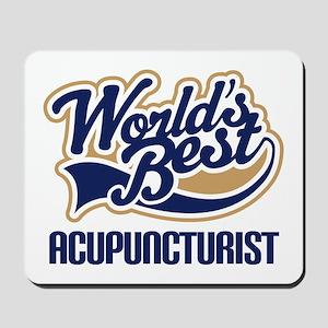 Worlds Best Acupuncturist Mousepad