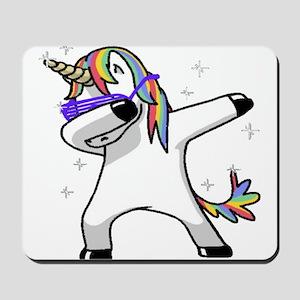unicorn dabbing Mousepad