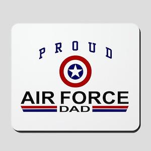 Proud Air Force Dad Mousepad