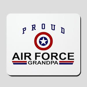 Proud Air Force Grandpa Mousepad