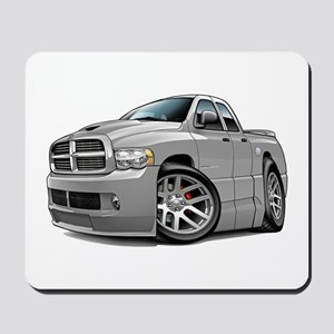 SRT10 Dual Cab Grey Truck Mousepad