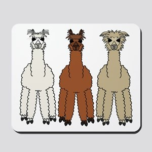 Alpaca (no text) Mousepad