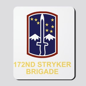 Army-172nd-Stryker-Bde-Black-Shirt-3 Mousepad