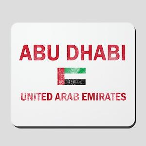 Abu Dhabi United Arab Emirates Designs Mousepad