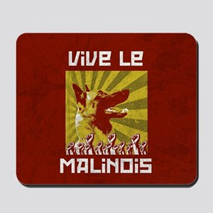 Vive le Malinois! Mousepad