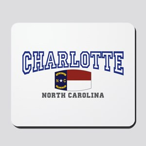 Charlotte, North Carolina NC USA Mousepad