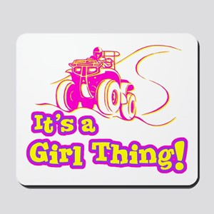 4x4 Girl Thing Mousepad