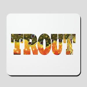 Brook TROUT Mousepad