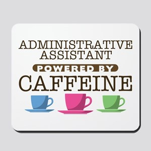 Administrative Assistant Powered by Caffeine Mouse