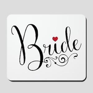 Elegant Bride Mousepad