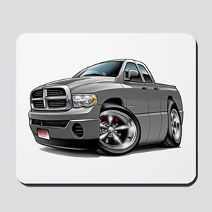 Dodge Ram Grey Dual Cab Mousepad