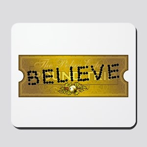 Polar Express Punched Ticket Mousepad